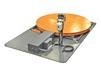 TRANSPORTABLE TURNTABLE WITH WEIGHT SCALE AND READOUT
