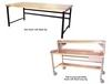 HEAVY-DUTY WORK BENCHES - FULLY ACCESSORIZED WITH STEEL TOP