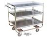 """STAINLESS STEEL """"U"""" FRAME CARTS"""